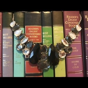 Jewelry - Black, grey, and white statement necklace